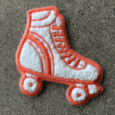 Rollerskate Chenille Iron-On Patch by Allison Cole