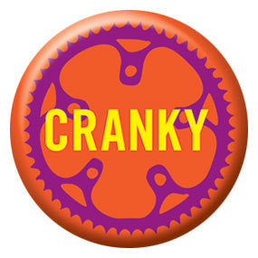 "Cranky 1"" Button by Seltzer Goods"