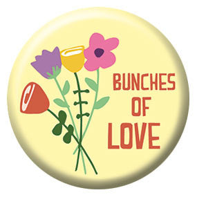 Seltzer Goods Bunches of Love 1 inch Button