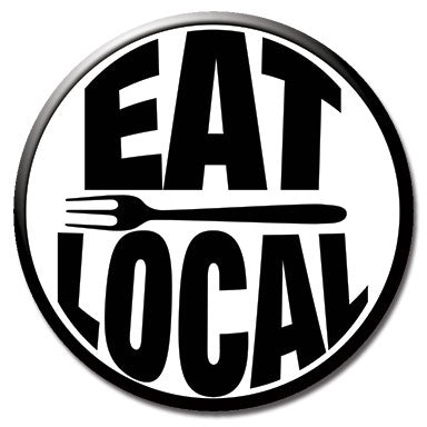 "Eat Local 1.25"" Button"