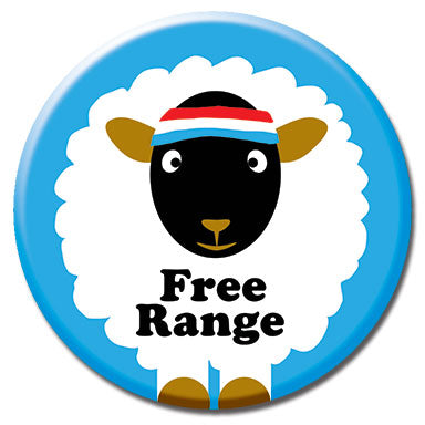 "Free Range 1.25"" Button"