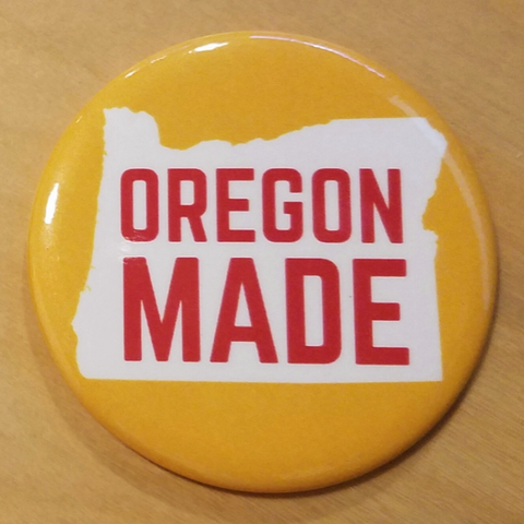 Oregon Made Magnet by Badge Bomb