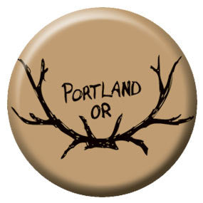 Portland Antlers 1 inch Button