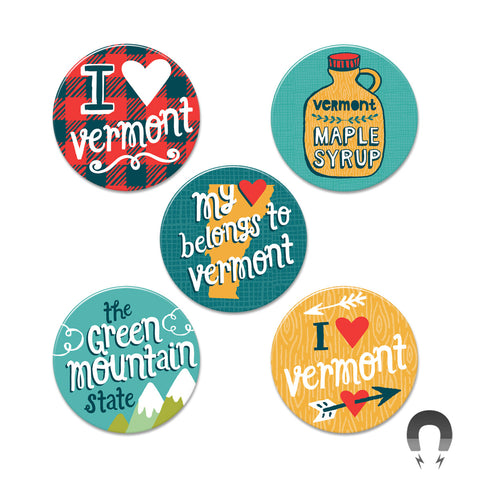 Vermont Big Magnets Bundle
