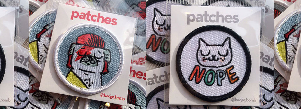 Brand New Patches from Badge Bomb!