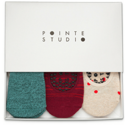 Pointe Studio,Holiday 3 pack