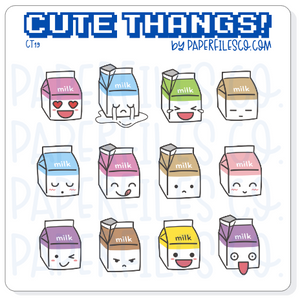 CT19 Milk Emojis