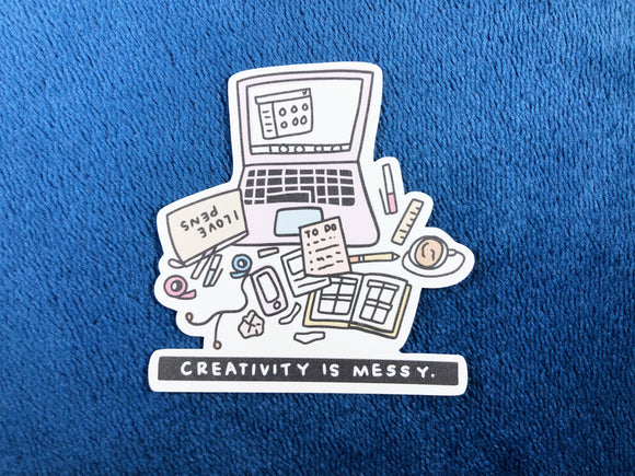 DC08 Creativity is Messy