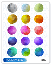 Load image into Gallery viewer, DECO4 Watercolor Circles (2 Options)