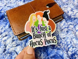 HP1 It's just a bunch of Hocus Pocus - Holo Sticker