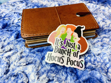 Load image into Gallery viewer, HP1 It's just a bunch of Hocus Pocus - Holo Sticker