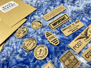 Kraft27 Post Stamps