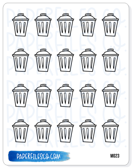 M023 Trash Cans