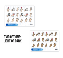Load image into Gallery viewer, Mini04 Hand signs (2 Options)