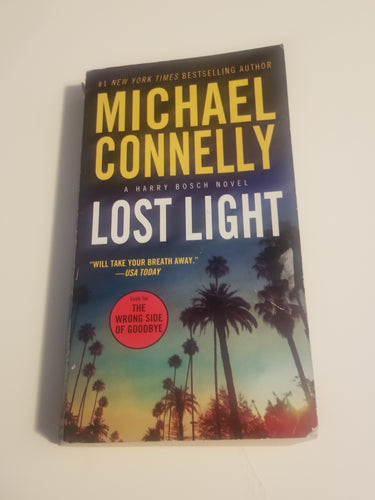 BOOK: Lost Light (A Harry Bosch Novel) by Michael Connelly (used) - Cositas Prácticas