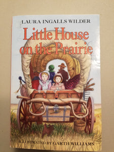 BOOK: Laura Ingalls Wilder - Liffle Houses in the Prairie (USED) - Cositas Prácticas