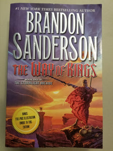 BOOK: The Way of Kings: Book One of the Stormlight Archive. by Brandon Sanderson (USED) - Cositas Prácticas