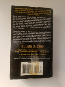 BOOK (used) - Brad Thor - The Lions of Lucerne - Cositas Prácticas