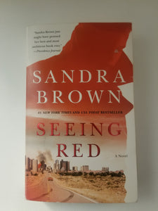 BOOK (used) - Sandra Brown: Seeing Red - Cositas Prácticas