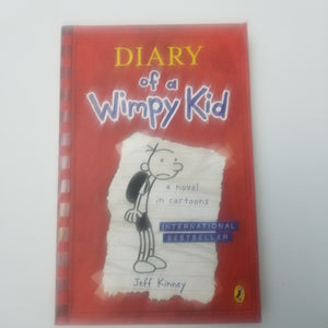 BOOK - Used = Diary of a Wimpy Kid by Jeff Kinney - Cositas Prácticas