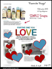 la yoga magazine favorite things hunki dori soap