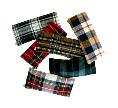 UNSCENTED Eye Pillow - 6 Plaids
