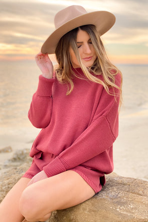 Bask Oversized Knit Pullover