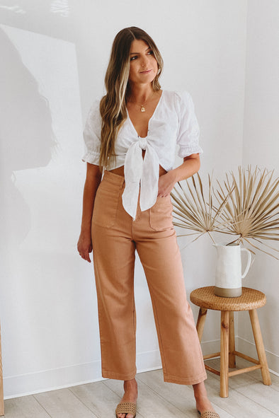 June Wide Leg Pants