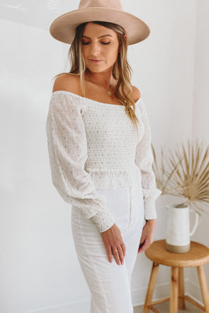 Aerin Smocked Blouse