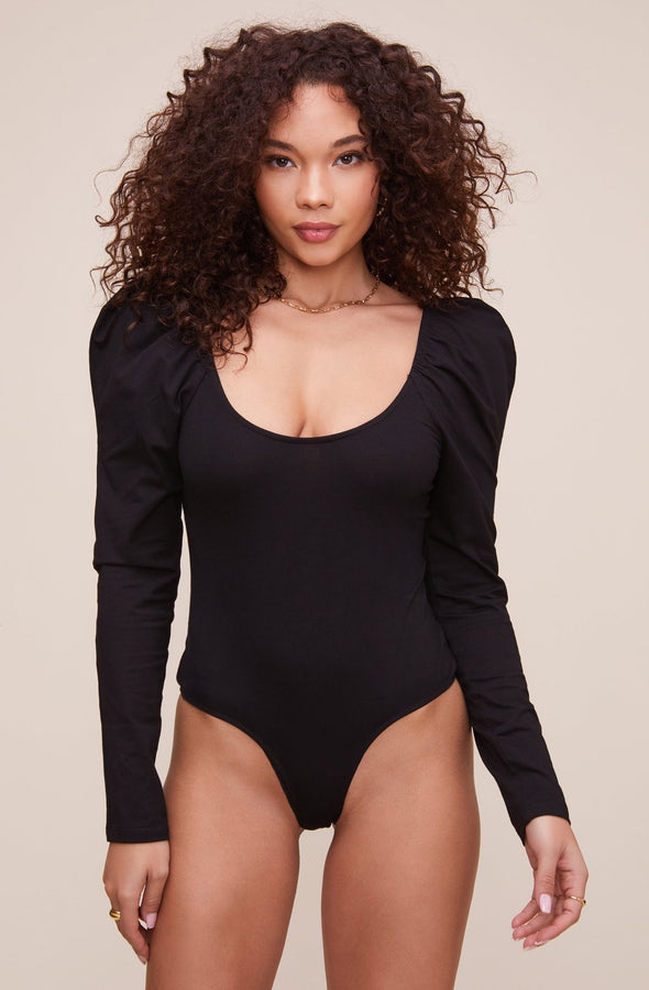 ASTR the Label Fatima Bodysuit - Black