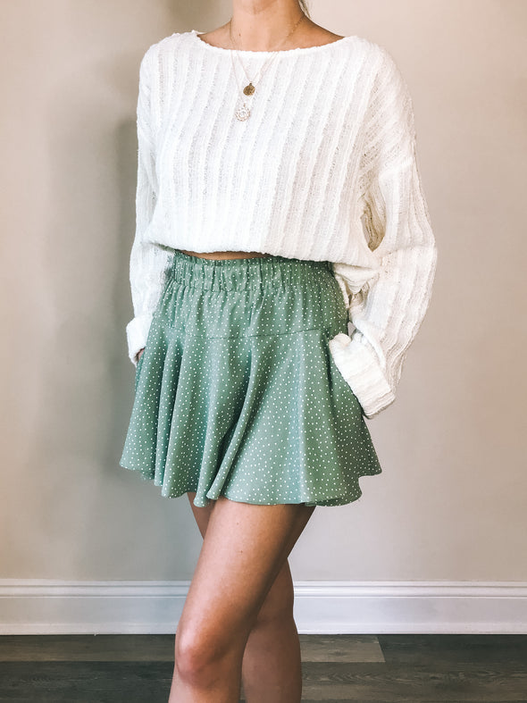 Sage the Label Magnolia Mini Skirt