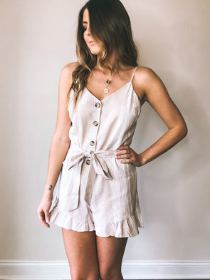 Shandy Striped Romper