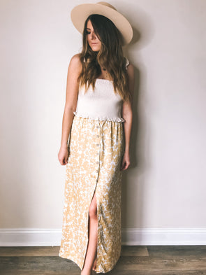 Knot Sisters Dixie Maxi Skirt