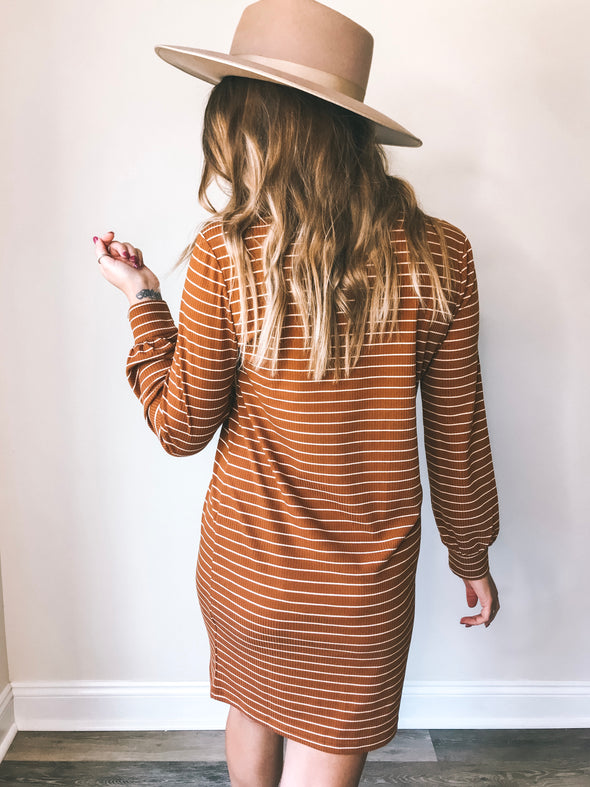 Knot Sisters Clare Turtleneck Dress