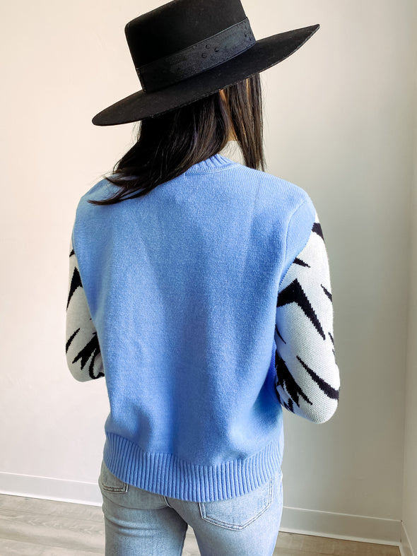 Wolf Pack Knit Sweater // MINKPINK