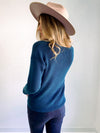 Gentle Fawn Tucker Teal Sweater