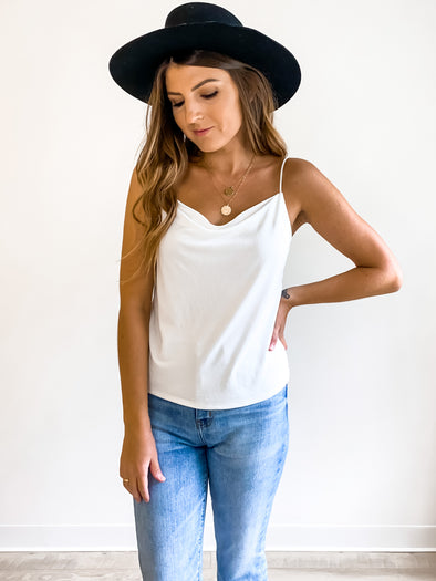 Gentle Fawn Nadine Cowl Neck Tank