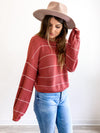 Healey Knit Stripe Pullover