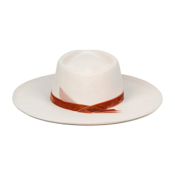 Lack of Color Val Diamond Hat - White