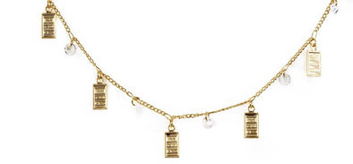 Bracha Gold Bar Anklet
