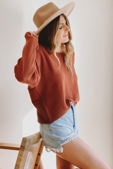 Gold Beam Sweater