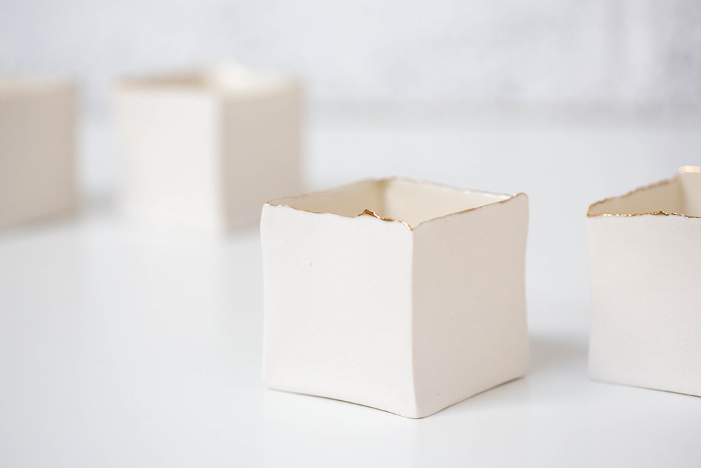 'Little Boxeen' - Tea light holder - small