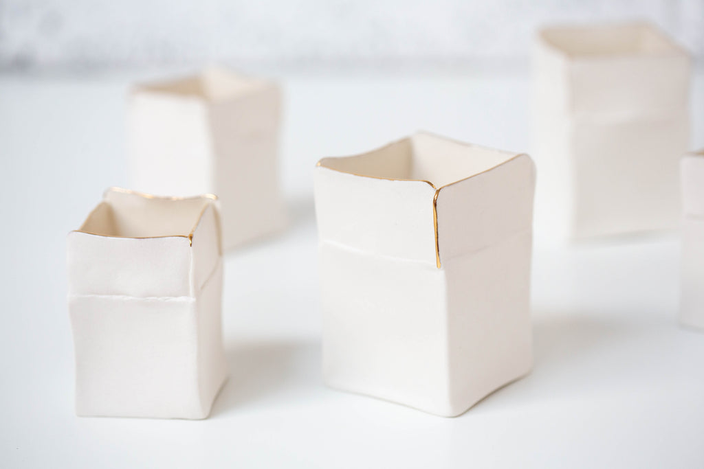 'Boxeen' Tea light holder