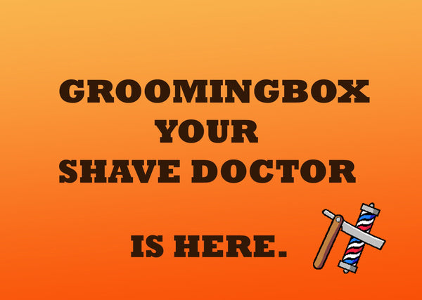 Groomingbox Your Shave Doctor - Subscribe bi-monthly