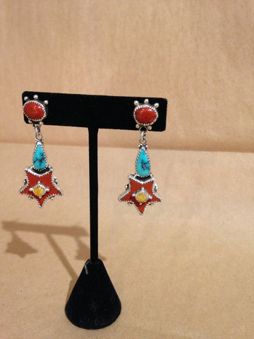Margie Hiestand's Western Star Earrings