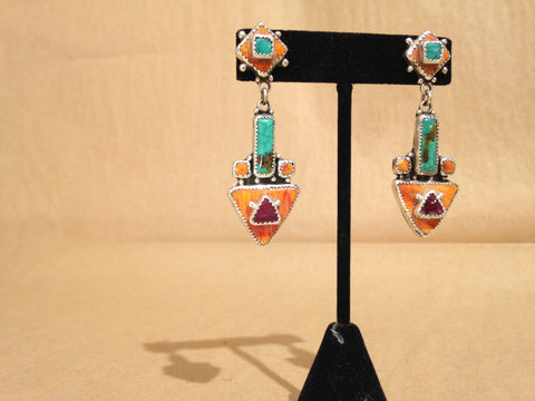 Margie Hiestand's Western Triangle Earrings