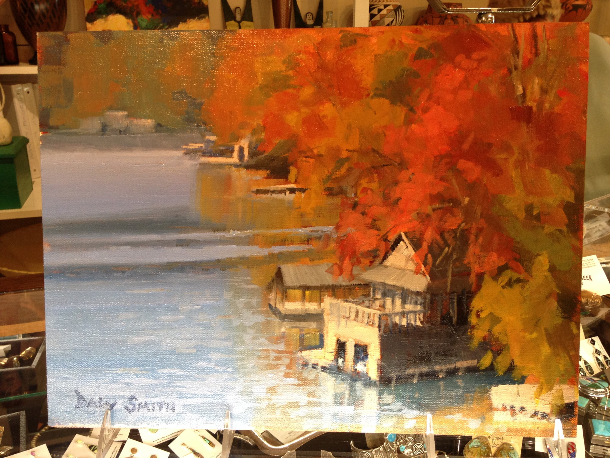 "Daly Smith's ""Fall at Lake Burton"""
