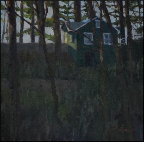 "Libby Mathews - Billy's House (19"" x 19"")"