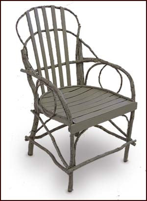 Bentwood Hickory  & Oak Arm Chair