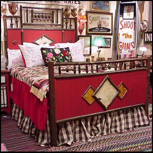 Rustic Revival Bed